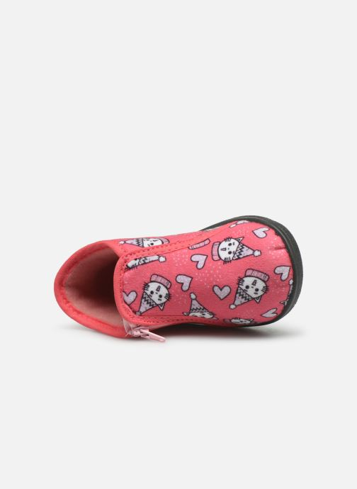 Slippers Rondinaud Gela Pink view from the left