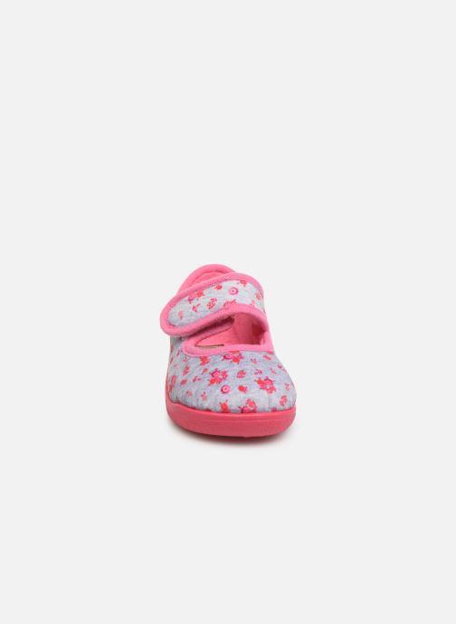 Chaussons Rondinaud Eylau Rose vue portées chaussures
