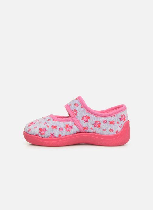 Pantoffels Rondinaud Eylau Roze voorkant