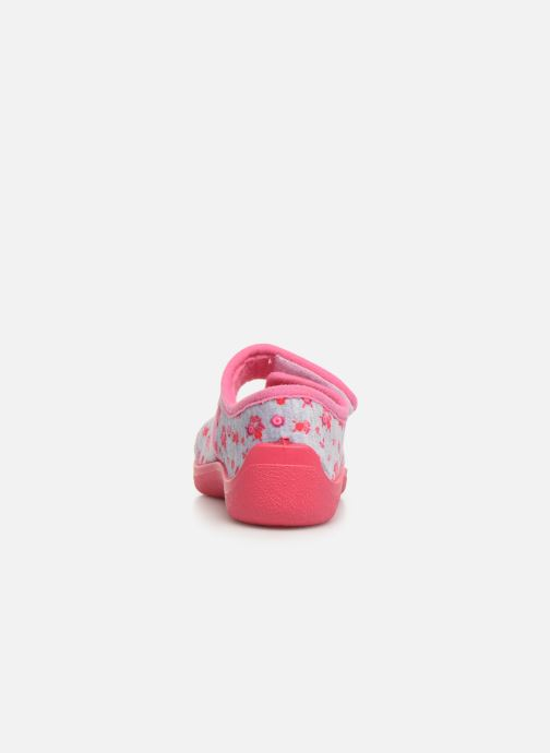 Slippers Rondinaud Eylau Pink view from the right