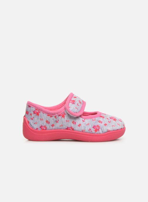 Slippers Rondinaud Eylau Pink back view