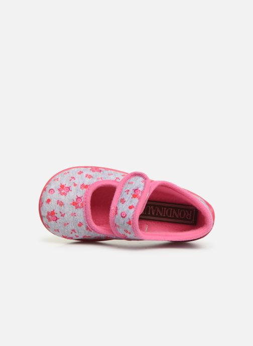 Slippers Rondinaud Eylau Pink view from the left