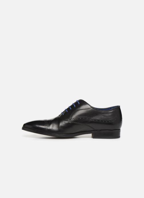 Chaussures à lacets Azzaro Depech Noir vue face