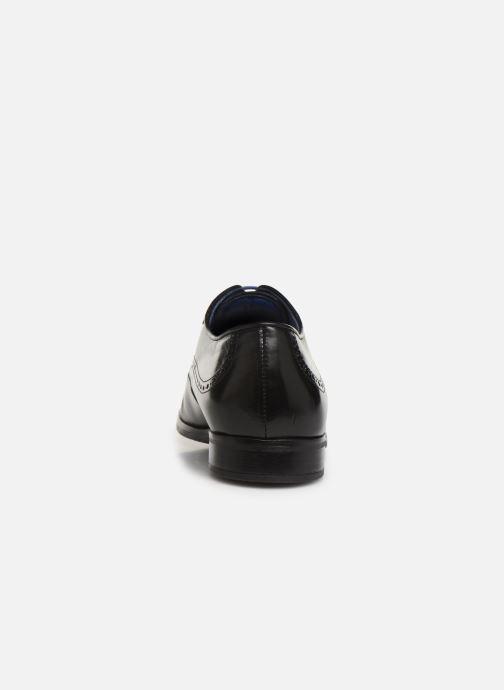 Chaussures à lacets Azzaro Depech Noir vue droite