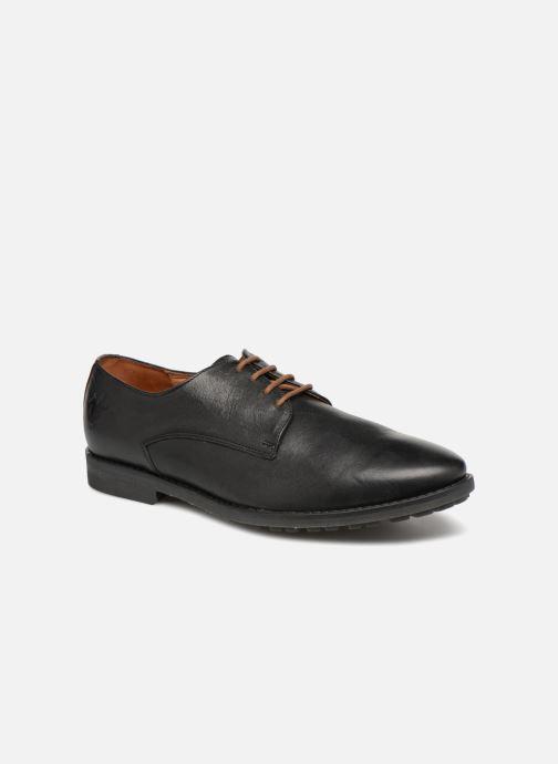 Chaussures à lacets Kost Batelier27 Noir vue détail/paire