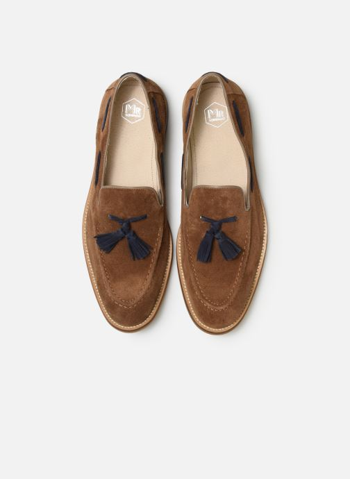 Mocassins Mr SARENZA Damoc Beige vue portées chaussures