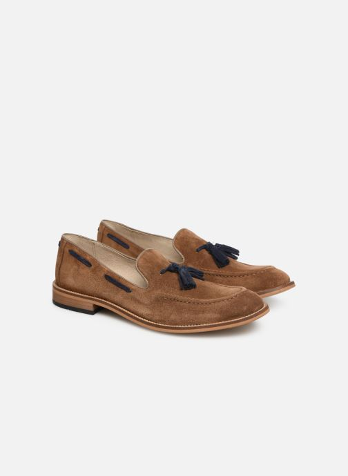 Loafers Mr SARENZA Damoc Beige back view