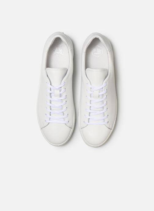 Baskets Mr SARENZA Dasket Blanc vue portées chaussures