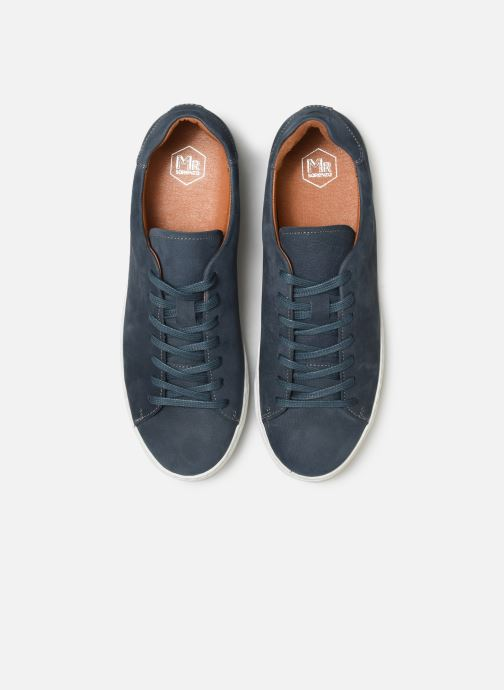 Sneakers Mr SARENZA Dasket Azzurro modello indossato