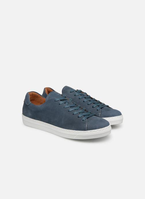 Sneakers Mr SARENZA Dasket Azzurro immagine posteriore