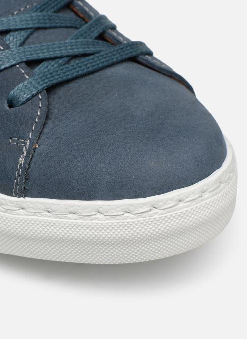 Sneakers Mr SARENZA Dasket Azzurro immagine sinistra