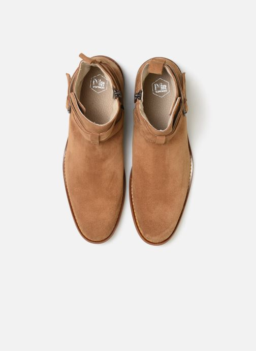 Ankle boots Mr SARENZA Doots Brown model view
