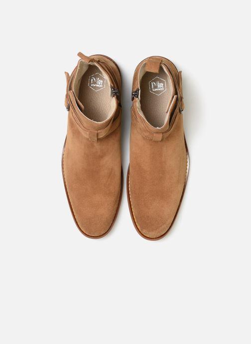 Boots Mr SARENZA Doots Brun bild av skorna på