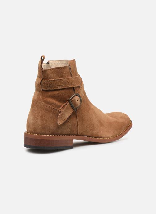 Bottines et boots Mr SARENZA Doots Marron vue face