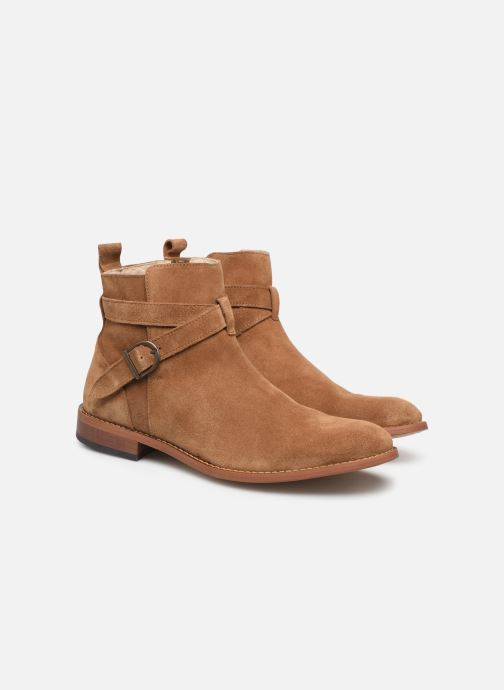 Ankle boots Mr SARENZA Doots Brown view from the right