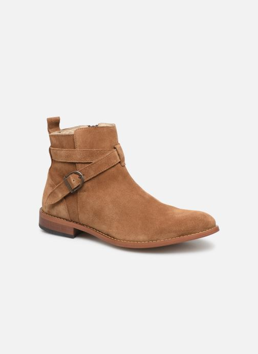 Ankle boots Mr SARENZA Doots Brown back view