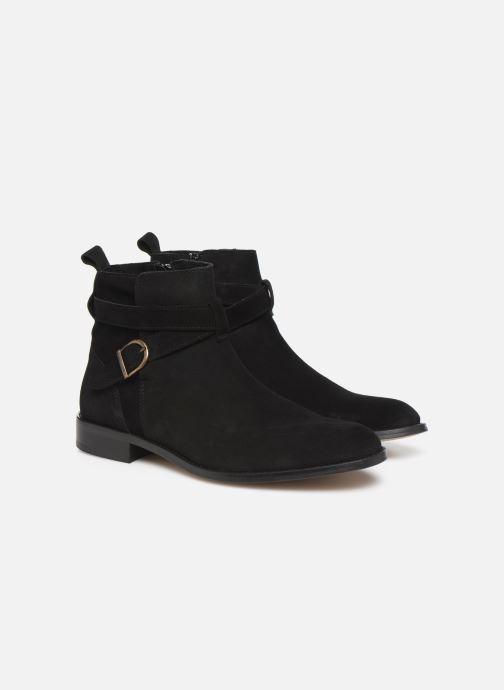 Boots en enkellaarsjes Mr SARENZA Doots Zwart achterkant