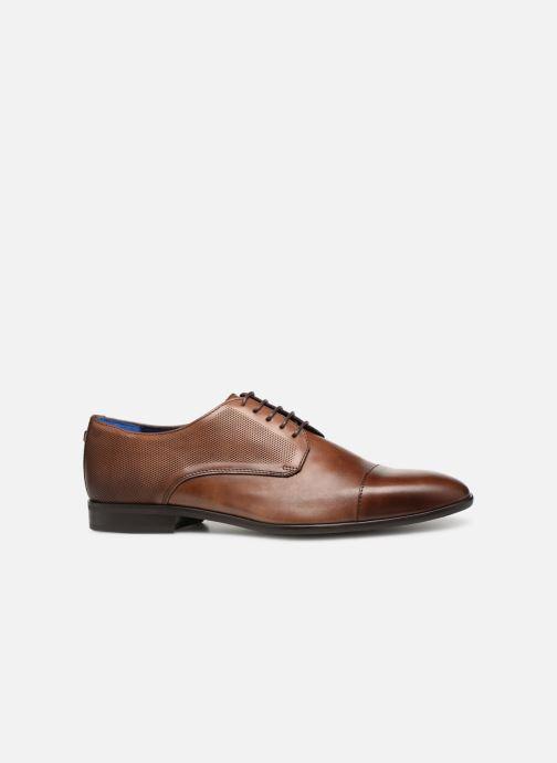 Chaussures à lacets Azzaro Remako Marron vue derrière
