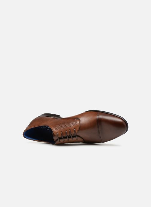 Chaussures à lacets Azzaro Remako Marron vue gauche
