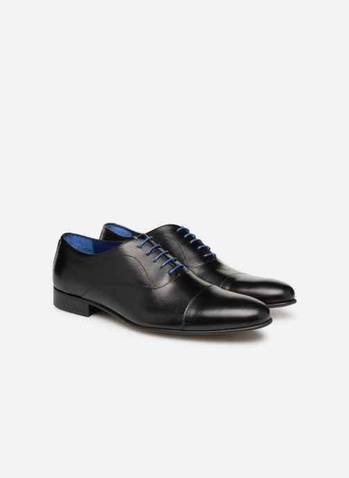 Lace-up shoes Azzaro Cipria Black 3/4 view