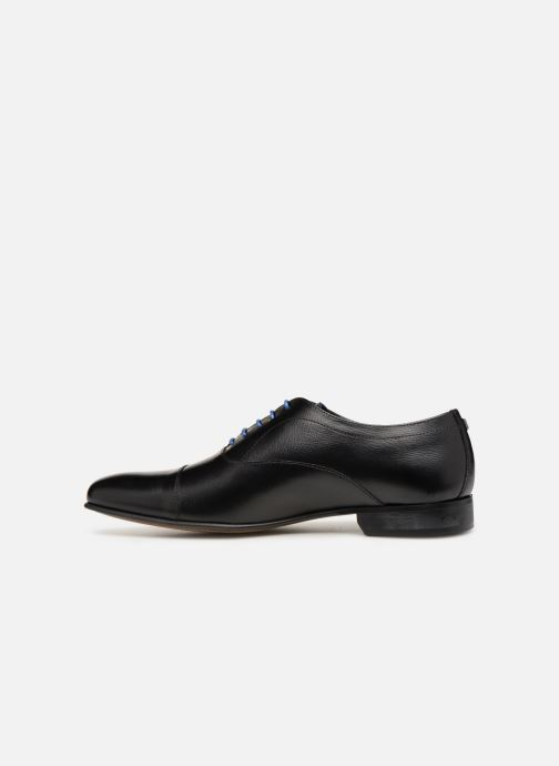 Lace-up shoes Azzaro Cipria Black front view