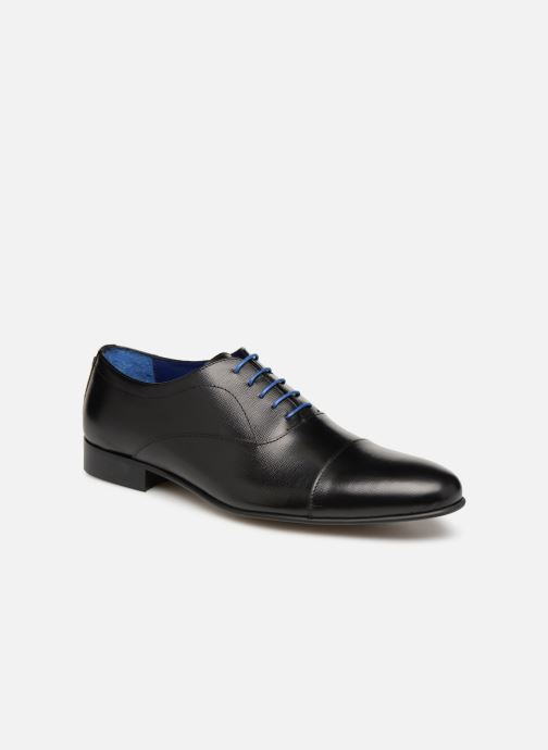 Lace-up shoes Azzaro Cipria Black detailed view/ Pair view