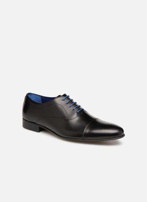 Chaussures à lacets Azzaro Cipria Noir vue détail/paire