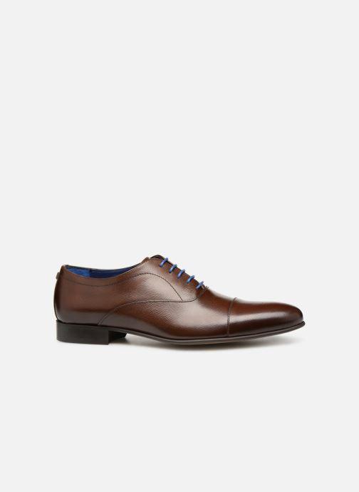 Chaussures à lacets Azzaro Cipria Marron vue derrière