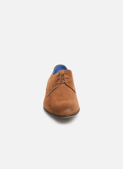 Lace-up shoes Azzaro Cristalin Brown model view