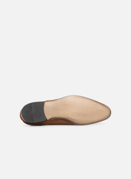 Lace-up shoes Azzaro Cristalin Brown view from above