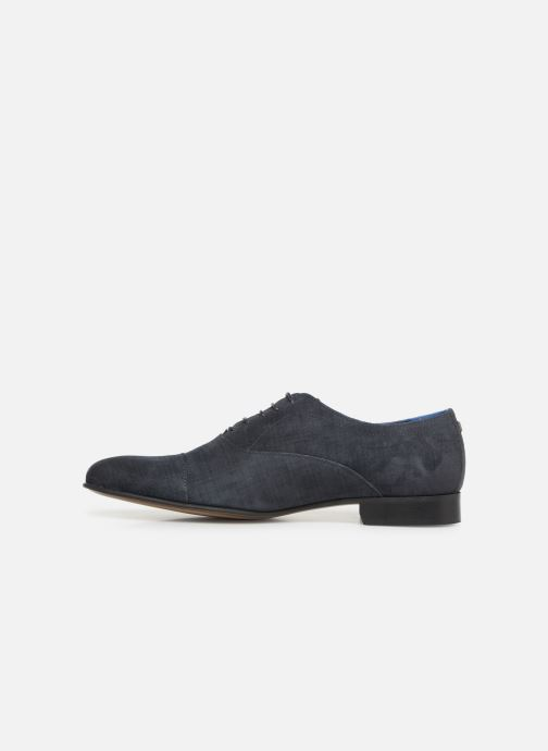 Lace-up shoes Azzaro Cipriol Blue front view