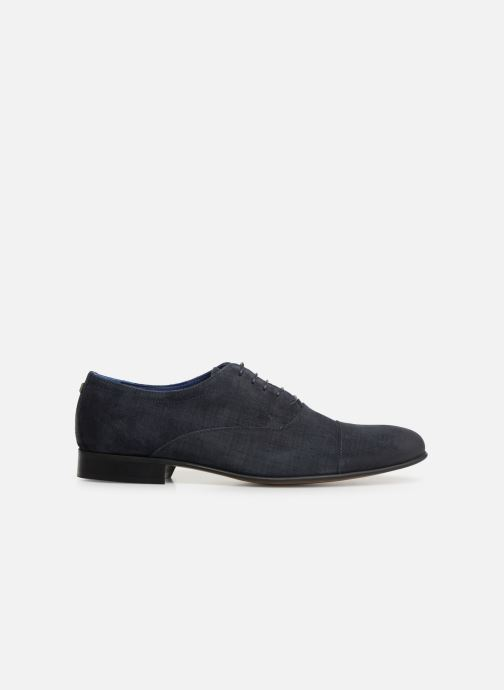 Lace-up shoes Azzaro Cipriol Blue back view