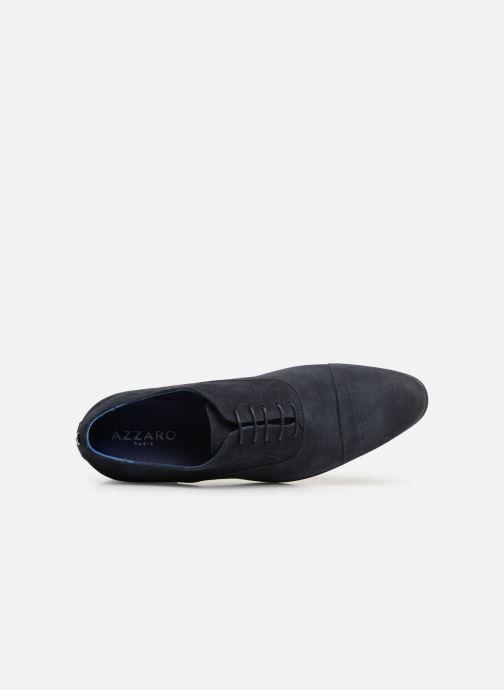 Chaussures à lacets Azzaro Cipriol Bleu vue gauche