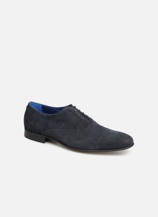 Lace-up shoes Azzaro Cipriol Blue detailed view/ Pair view