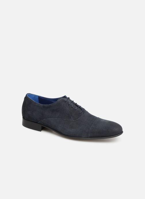 Snøresko Azzaro Cipriol Blå detaljeret billede af skoene