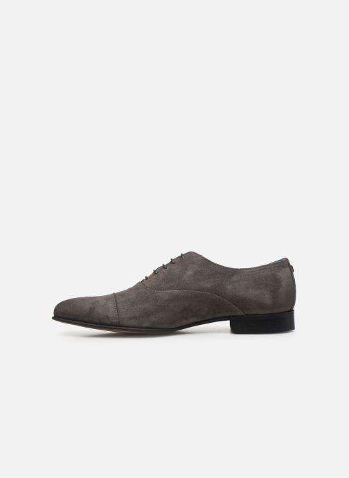 Chaussures à lacets Azzaro Cipriol Gris vue face