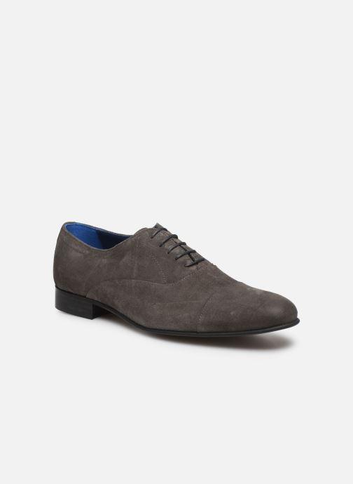Azzaro Cipriol (Gris) Chaussures à lacets chez Sarenza