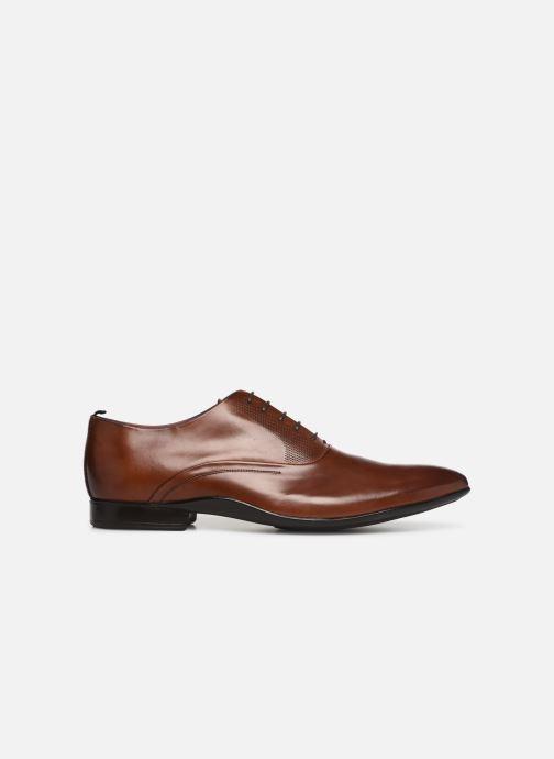 Chaussures à lacets Azzaro Odily Marron vue derrière