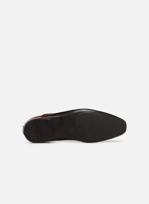 Scarpe con lacci Azzaro Odily Marrone immagine dall'alto