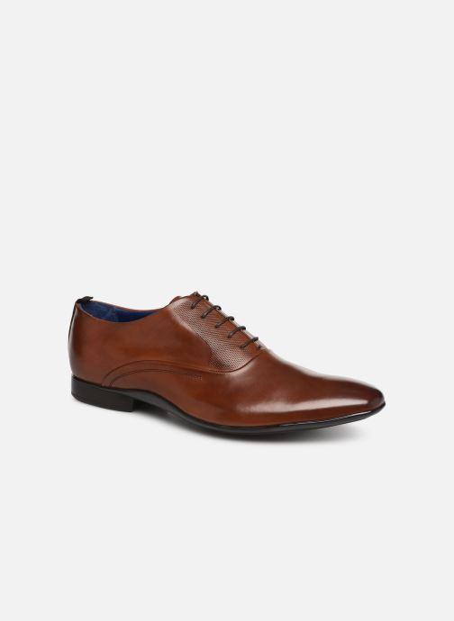 Snøresko Azzaro Odily Brun detaljeret billede af skoene