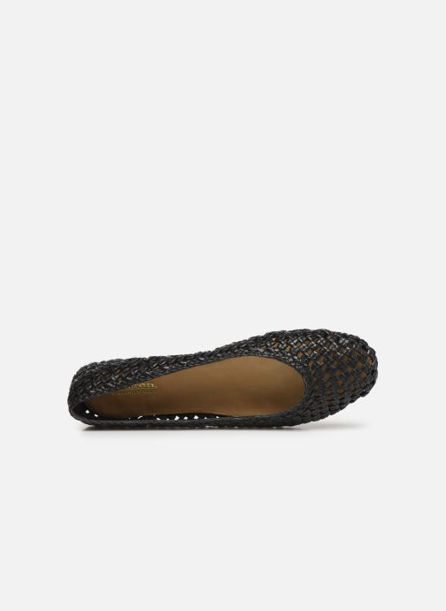 Ballet pumps Dragon Diffusion Tess Black view from the left