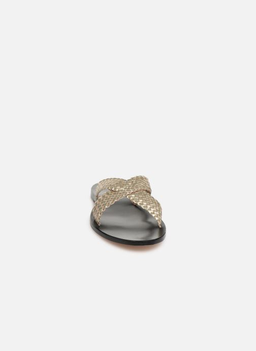 Wedges Dragon Diffusion Nora Goud en brons model