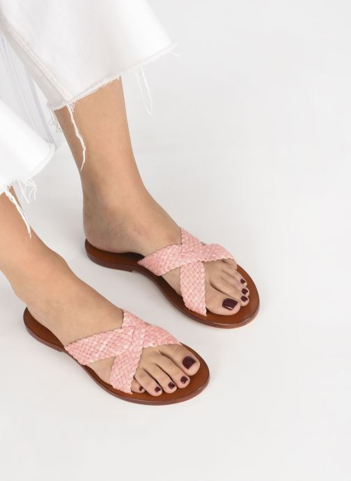 Mules & clogs Dragon Diffusion Nora Pink view from underneath / model view