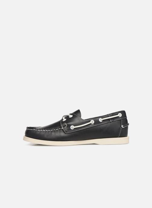 Zapatos con cordones Sebago Docksides Portland Azul vista de frente