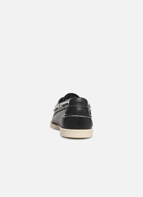 Chaussures à lacets Sebago Docksides Portland Bleu vue droite