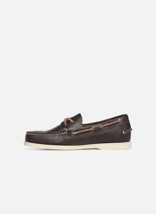 Zapatos con cordones Sebago Docksides Portland Marrón vista de frente