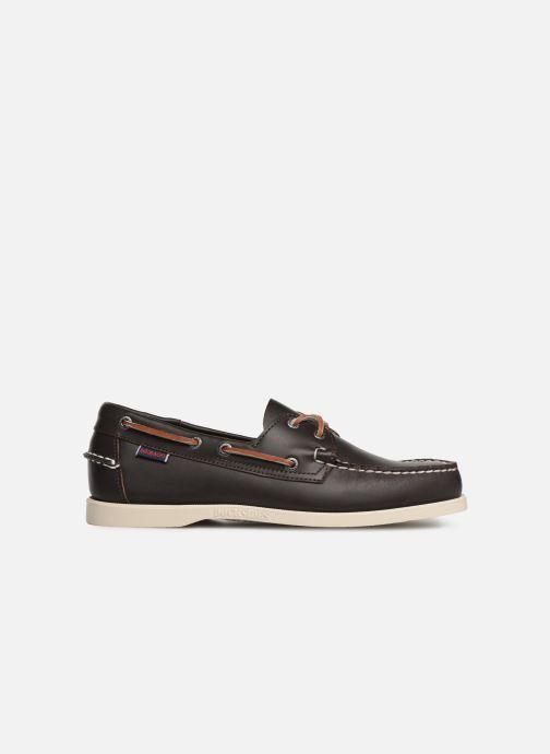 Zapatos con cordones Sebago Docksides Portland Marrón vistra trasera