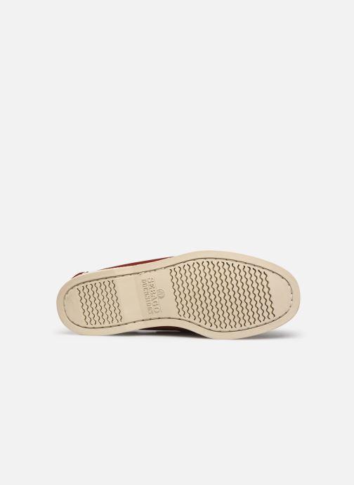 Chaussures à lacets Sebago Docksides Portland Rouge vue haut