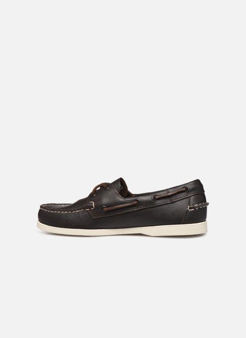 Chaussures à lacets Sebago Docksides Portland Marron vue face