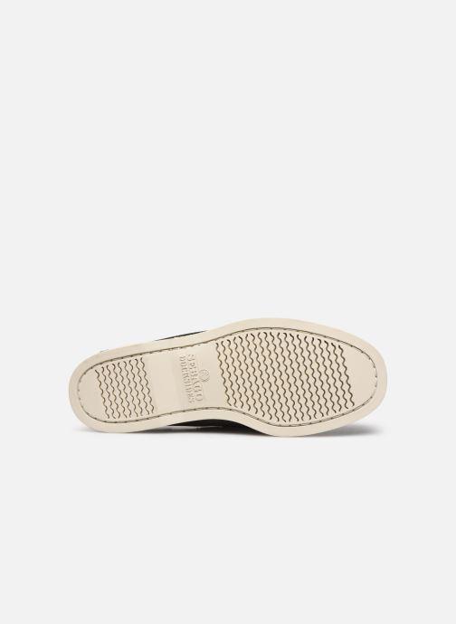 Chaussures à lacets Sebago Docksides Portland Marron vue haut